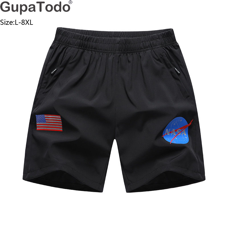 Obedient Gupatodo Summer Gym Mens Sport Running Shorts Quick Dry Outdoor Jogging Shorts Men Tennis Training Beach Shorts With Zip Pocket For Sale Men's Clothing