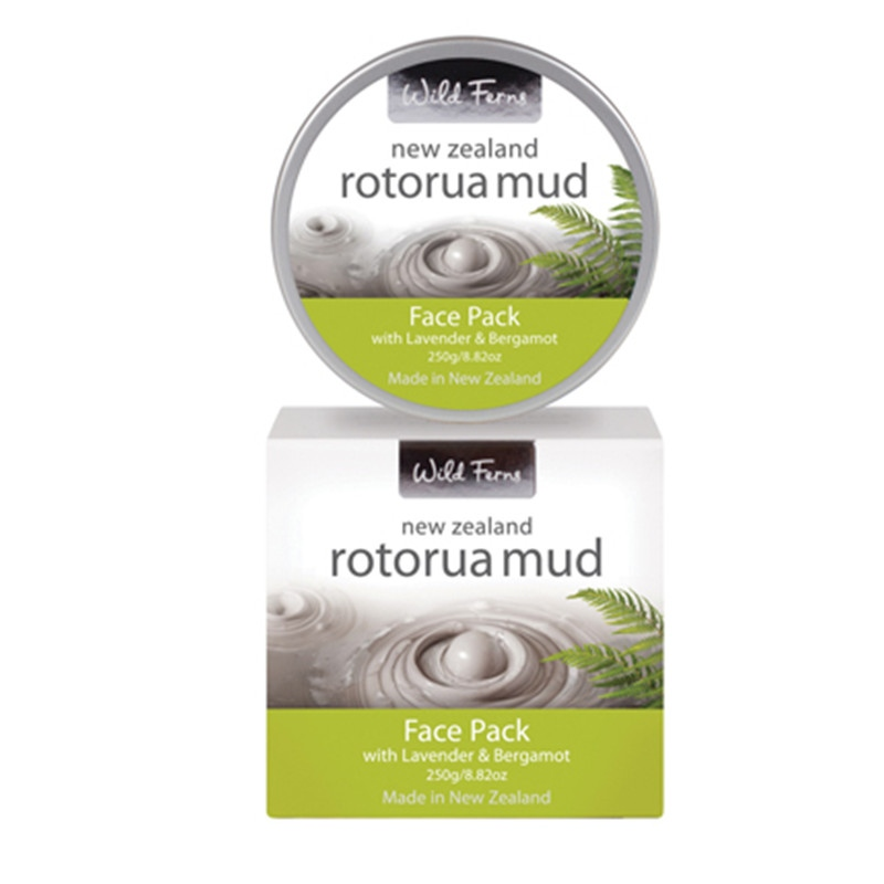 ФОТО Parrs intensive deep cleansing, exfoliating Rotorua Mud Warm Face Pack with Lavender &Bergamot purify pores, relax tired muscles
