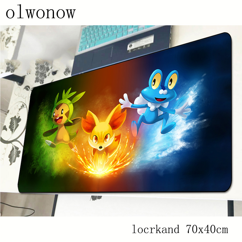 pokemons mousepad 700x400x3mm Indie Pop gaming mouse pad gamer mat Professional computer desk padmouse keyboard large play mats 3
