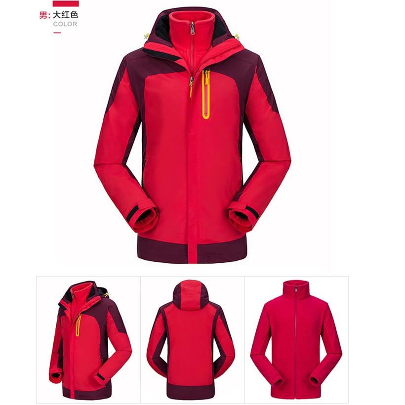 Winter Thermal Jacket Férfi Női szerető kültéri túrázás - Sportruházat és sportolási kiegészítők