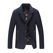 plus size 10XL 9XL 8XL Leisure suit brand black red green and khaki colors men autumn coat large size jacket men 7XL 6XL 5XL 4XL