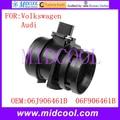 New Mass Air Flow Sensor use OE No. 06J906461B 06F906461B  AFH60-34 AFH60M-27A 105-053-H7 MAF0051 AF10218 for Volkswagen VW Audi