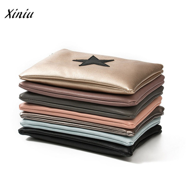 New handbag Women Envelope Bag Day Cluthes Bags Zipper Coin Purse Wallet Card Holders Stars Pattern Handbag bolsa feminina 2
