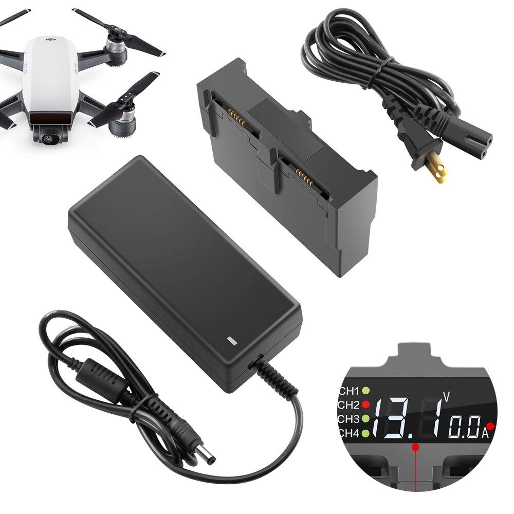 Зарядное устройство для DJI Spark Drone параллельный Быстрый зарядный концентратор DJI SPARK 4 в 1 умный полет батарея менеджер запасные части