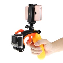 Meking Camera Phone Selfie Stick holder stand Video Recording Shutter Controller for Gopro Action Camera iphone Samsung