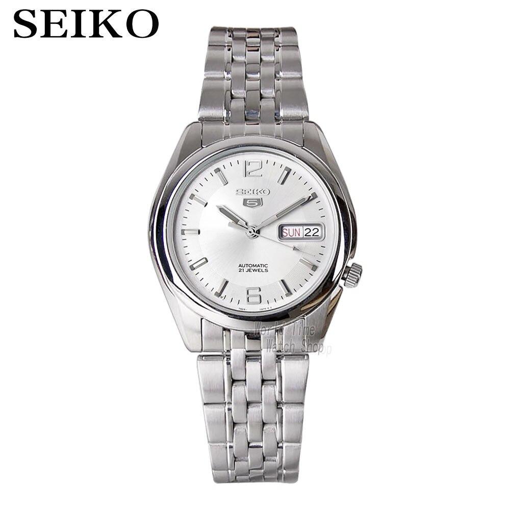 seiko watch men 5 automatic watch to Luxury Brand Waterproof Sport men watch set mens watches