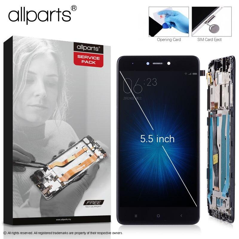 Snapdragon 625 Display Originale Per XIAOMI Redmi Nota 4X LCD Touch Screen Con Telaio Per La Nota Redmi 4X Display LCD di ricambio