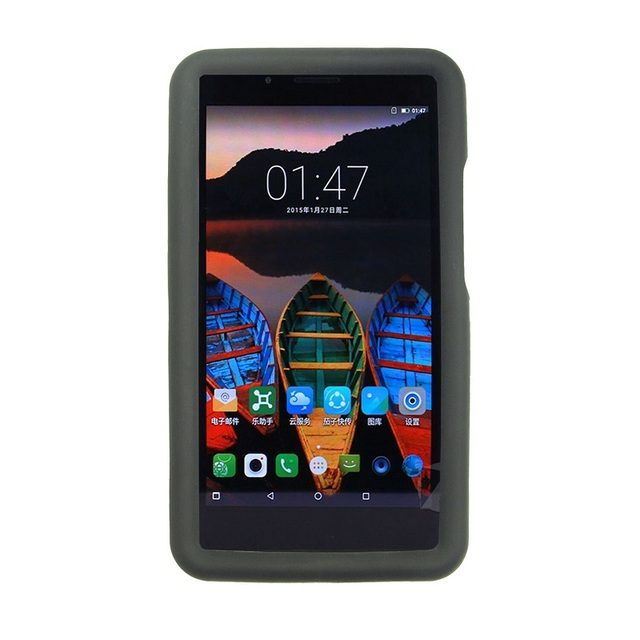 MingShore For Lenovo Tab 3 7 Plus Tb-7703x Silicone Rugged Tablet Case 3 P7 7.0 Inch