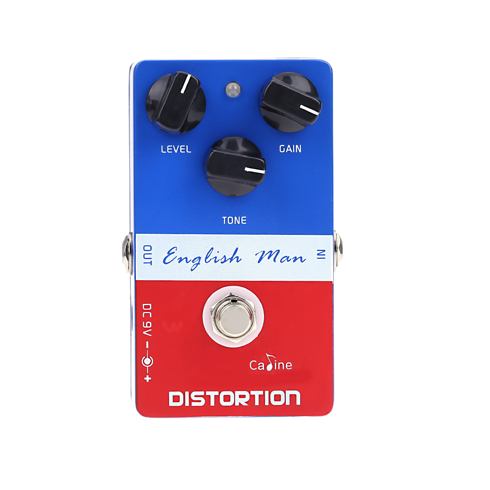 Caline CP-14 Guitar Effect Pedals English Man Distortion effect High Frequency Guitar Pedal Guitar Effect True Bypass Design proco sound you dirty rat distortion guitar effect pedals