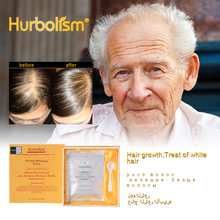 Hurbolism New Herbal Powder for Clean Hair Whitening and Prevent Loss, Return Color Nourish Quality