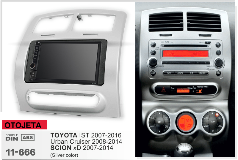 Navirider Android 8 1 car multimedia stereo player tape recorder frame radio series fit for toyota