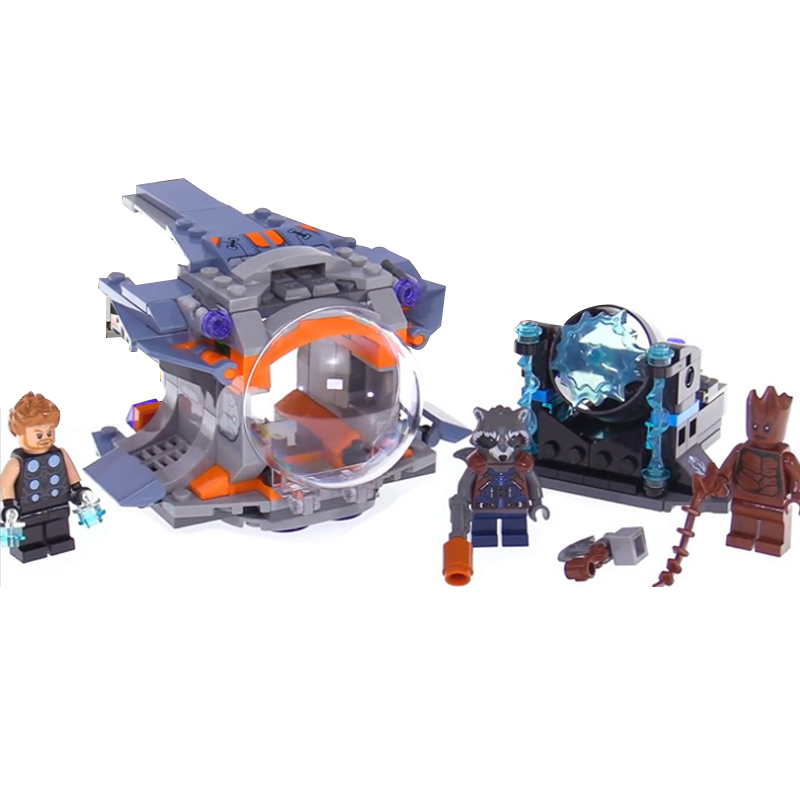 07105 Thor Weapon Quest Set Building Blocks Compatible Legoing Super Heroes 76102 Avengers Infinity War Guardians of the Galaxy