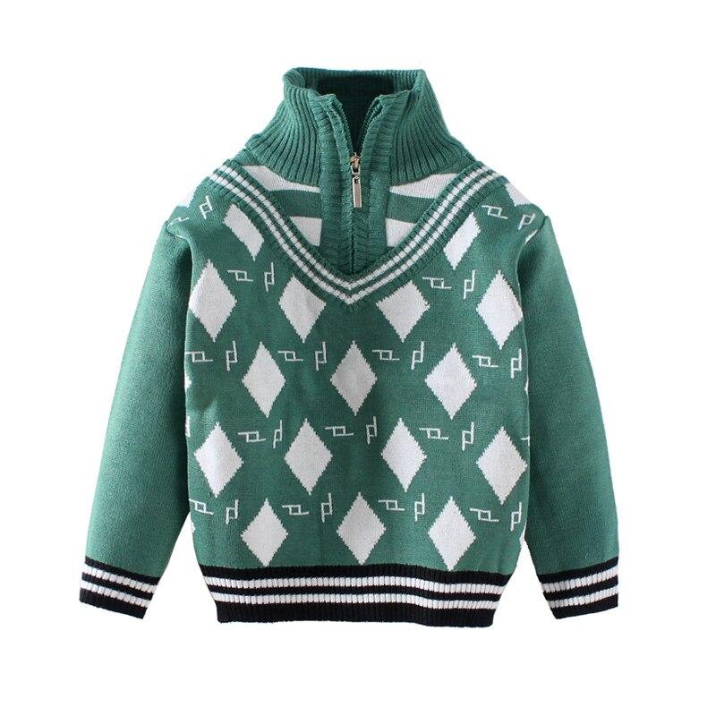 Mudkingdom Toddler Baby Boys Turtleneck Full Sleeve Acrylic Sweater Infant Children Zip Up Cardigan Kids Girls Winter Clothes
