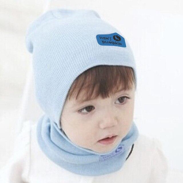 Lucu Musim Gugur Musim Dingin Bayi Topi Syal Set Fashion Bayi Gadis Anak  Laki-laki 85ff033d1e