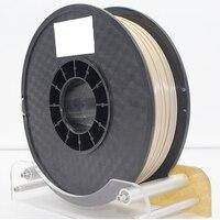 FLEXBED PEEK высокотемпературная экзотическая нить 1,75 мм, термостойкая 3D печатная нить, натуральный цвет, 0,5 кг для 3d принтера