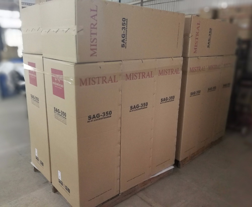 Mistral SAG-350 180W x 2 Hifi Standlautsprecher - Tragbares Audio und Video - Foto 6