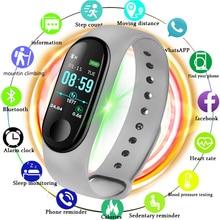 LIGE Новый Ip67 Водонепроницаемый умный браслет светодиодный цветной экран плавательный калорий пульсометр монитор кровяного давления Смарт наручные часы