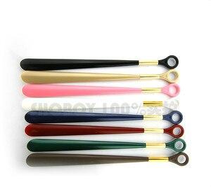 Image 2 - 49 см Пластиковый обувной рожок, сверхдлинный выдвижной обувной рожок с длинной ручкой