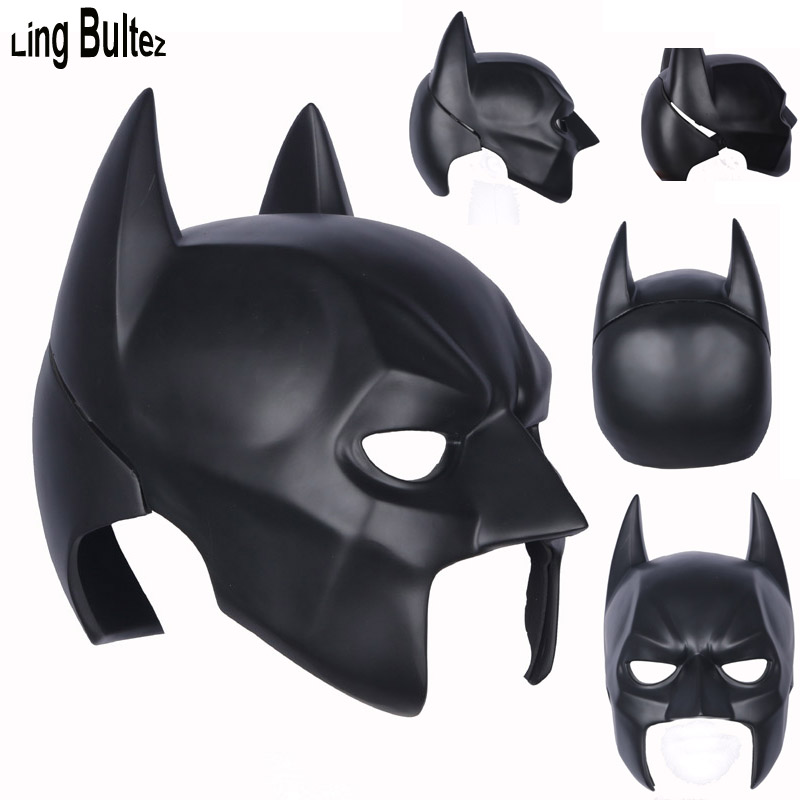 Ling Bultez High Quality Batman Helmet Full Head Mask Super Hero Batman Mask