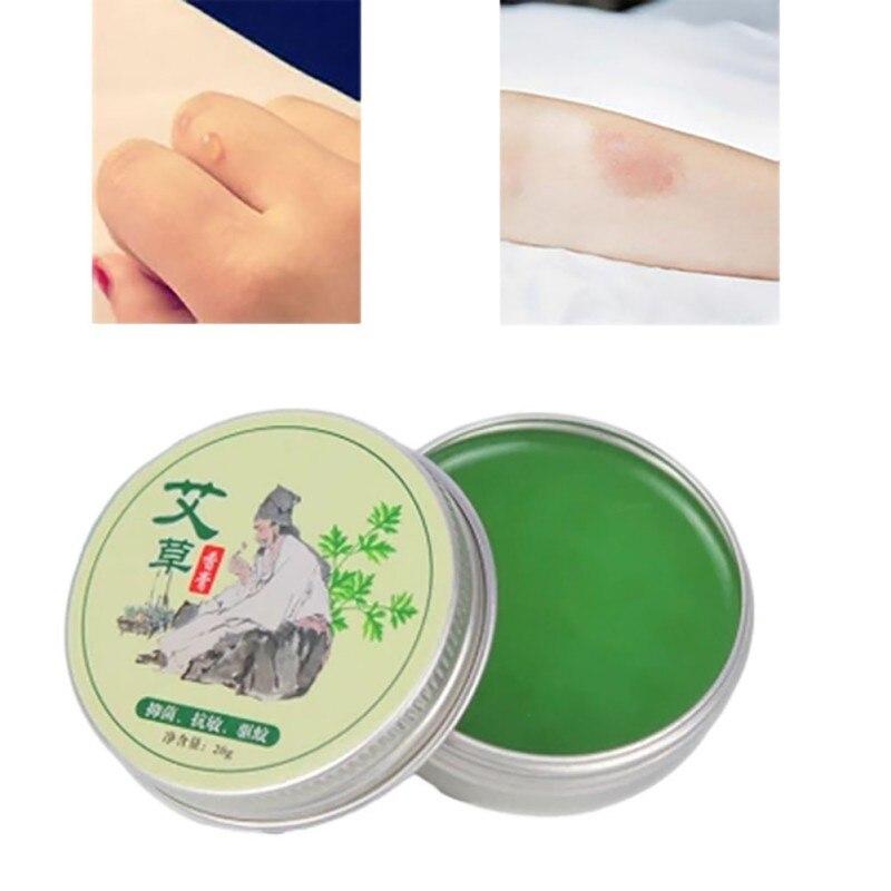 Wormwood Mosquito Repellent Pure Herbal Moxa Moxibustion Cream Mugwort Acupuncture Essence K5