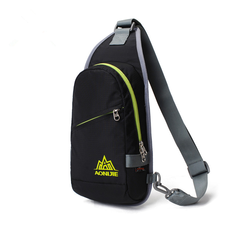 AONIJIE Outdoor Nylon Shoulder Bag Lightweight Waterproof Messenger Bag Women Men Cycling Sport Chest Pack