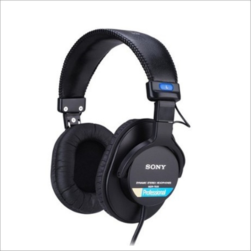 Linhuipad 1 Pair Replacement Leather Ear Pads Ear Cushions Durable Sponge Earpads Fit On SONY MDR-7506, V6, CD900ST, HD202