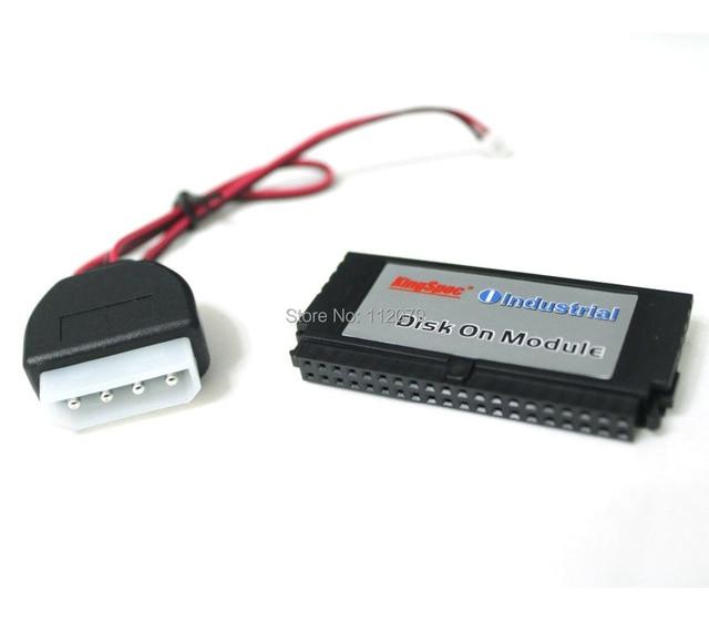 Nueva kingspec ssd pata ide 40pin dom mlc 16 gb (kdm-40vs.2-016gms) industrial disk on module unidades de estado sólido vertical + socket