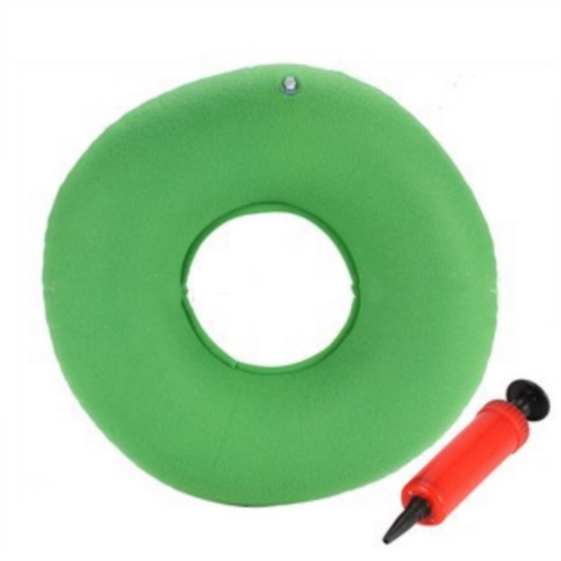 Inflatable Vinyl Ring Round Seat Cushion Medical Hemorrhoid Pillow PVC Airbags Inflatable Seat Pad Effective Prevent Decubitus