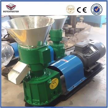 Najlepiej sprzedająca się 80-100 kg h pasza dla drobiu frezarka pelletowa z CE tanie i dobre opinie YSKJ120 Nowy ROTEXMASTER