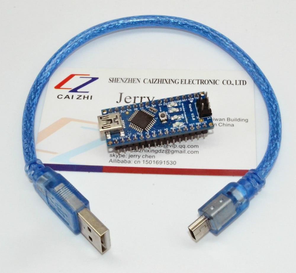 Free shipping for arduino nano v controller atmega p
