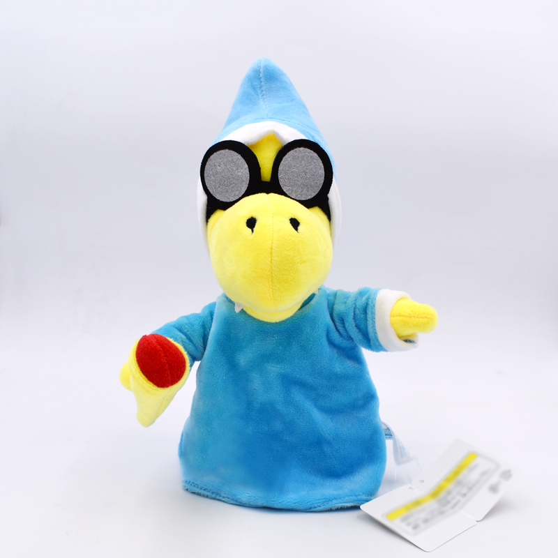2018 New 28cm Super Mario Kamek Magikoopa Series Stuffed Plush Toy Soft Doll Gift For Children Birthday Gift Free Shipping 1