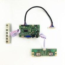 RTD2668 Универсальный HDMI VGA Аудио ЖК-дисплей плата контроллера для 24 дюймов 1920×1080 M240HW01 V0 V2 4 CCFL LVDS мониторы комплект diy