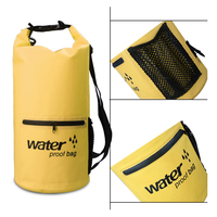 ПВХ 5L 10L 20L наружная водостойкая сумка сухая сумка для плавания сумка для хранения для путешествий рафтинг катание на лодках Каякинг Каноэ