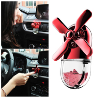 1pc Fan Shaped Perfume Clip Air Purifier Air Freshener Vent Clip Decoration For Car Remove Smoking Smell Car Accessories