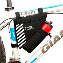 MTB Saddle Bag-Accessories Top-Tube-Bag Cycling-Frame-Bag Bike Bicycle Waterproof Rode