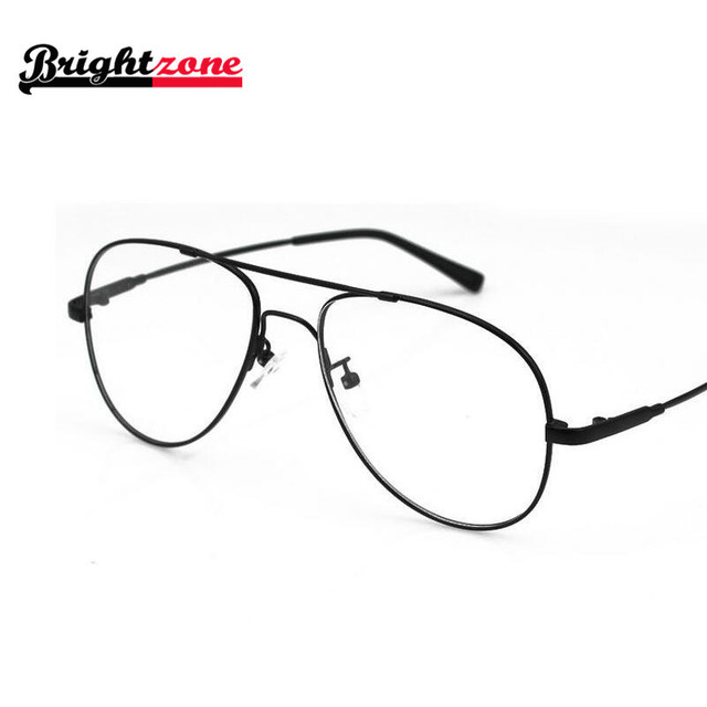 2d70825e2 New Arrival Best Selling Big Size Aviatoor Metal Flexible Bridge Temple  Optical Eyeglasses Glasses Frame Spectacles