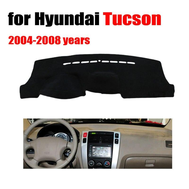 Car dashboard covers mat for Hyundai Tucson 2004-2008 years Left hand drive dashmat pad dash cover auto dashboard accessories