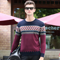 Autumn Sweater Men Down Coat Christmas Pullover Men Knitted Cardigans Pull Homme Long Sleeve Standard Sweaters Male Jumper 009