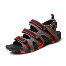 Men Sandals Slippers Summer Men Flat Shoes Beach Slippers Sandals Comfortable Outdoor Walking Shoes Casual 2016 Spring Autumn