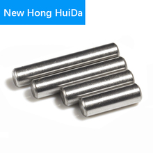 100pcs Cylindrical Pin Dowel 304Stainless Steel M1.5X6/8/10/12/16/20mm