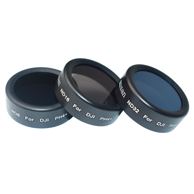 3 Pieces ND8+ND16+ND32 Filter For DJI Phantom 4 Professional/4 Advanced Phantom 4 Pro Adv Accessories With Carrying Box