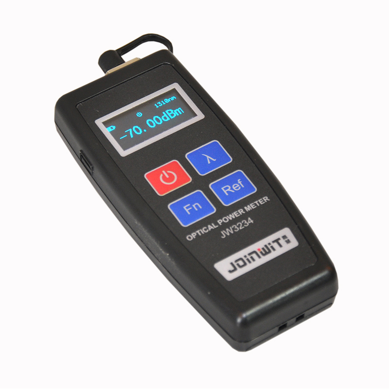 FTTH Mini Optical Power Meter Joinwit JW3234 Type C OPM Fiber Optical Cable Tester -70dBm~+10dBm SC/FC Universal interFTTH Mini Optical Power Meter Joinwit JW3234 Type C OPM Fiber Optical Cable Tester -70dBm~+10dBm SC/FC Universal inter