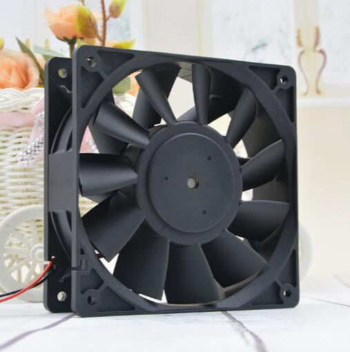 Delta PFB1224UHE 12038 24V 2.40A 12CM 120*120*38mm 2 wire large air volume violent frequency converter fan