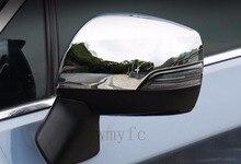 ABS Chrome сторона Зеркала заднего вида Кепки Накладка для Subaru Forester 2013 2014 2015 2016 2017 2018 боковое зеркало крышка Кепки отделкой