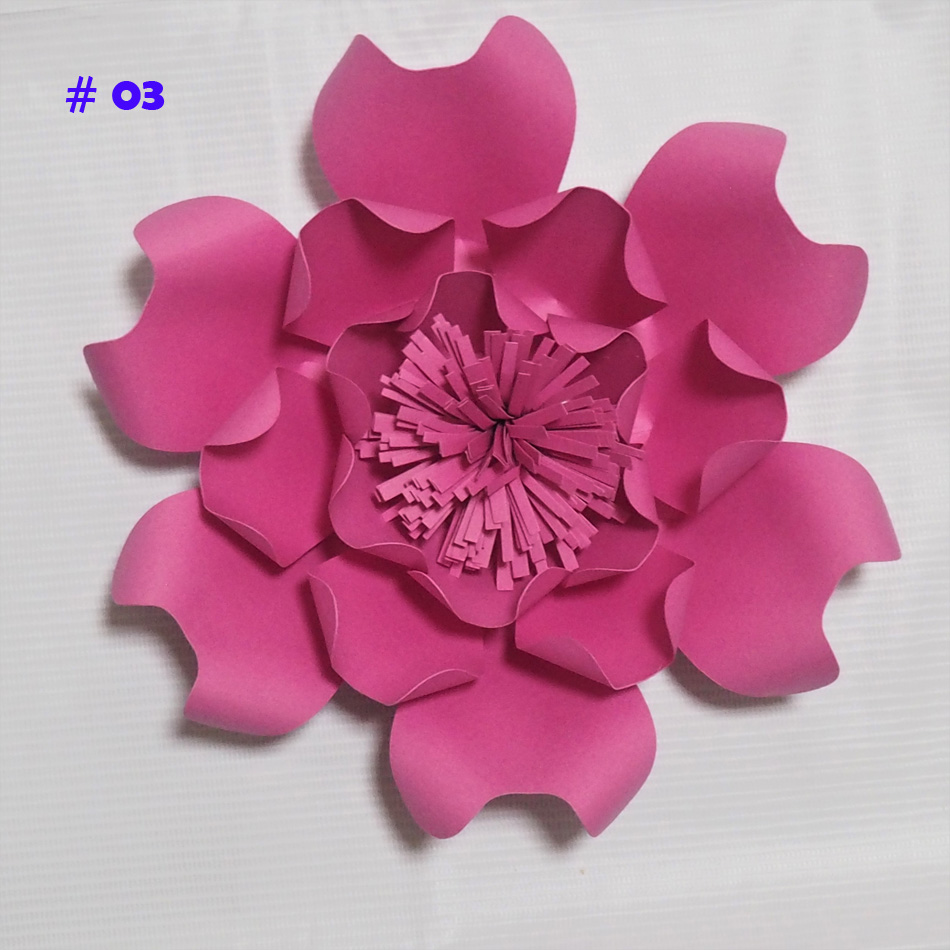 Aliexpress Buy Latest Giant Paper Flowers Artificial Rose Diy