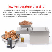 220V Oil Press Household Automatic Low Temperature Squeeze Electric Peanut Cocoa Flaxseed Soybean Almond Seasame Oil Maker
