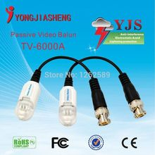 Single Channel Passive Video Balun lightning protection Passive Video Balun UTP Transivers/connector for cctv cameras 20PCS