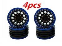 4pcs Aluminum Alloy 1.9 Beadlock Wheel Rims for 1/10 RC Crawler Traxxas TRX4 RC4WD D90 Axial SCX10 90028 90035 90046 90047 D110