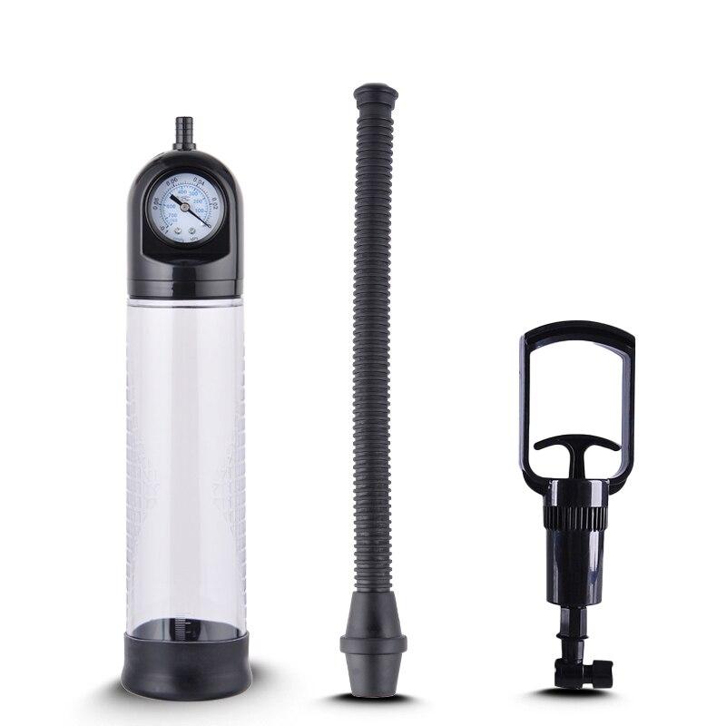 Male Penis Pump Erotic Penis Enlargement Enhance Massage Vacuum Pump Sex Machine Adult Sex Toys For Men Masturbator Sex Products in Vibrators from Beauty Health