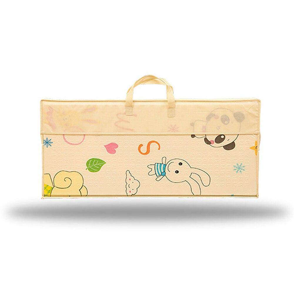 Infantile brillant enfants tapis de jeu pliant Puzzle tapis de jeu tapis de jeu pour les nourrissons 200*150*1 cm mousse ramper tapis Pack et jouer matelas 1 p - 3